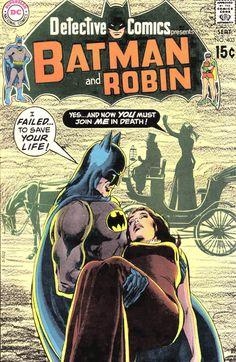 Detective Comics #403 - DC Comics - classic cover by legendary artist Neal Adams