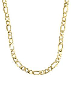 Lord & Taylor 14K Yellow Gold Mens Necklace Men's Gold