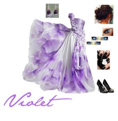 """""""Violet~Formal"""" by haileyscomet95 ❤ liked on Polyvore featuring Dolce&Gabbana and NOVICA"""