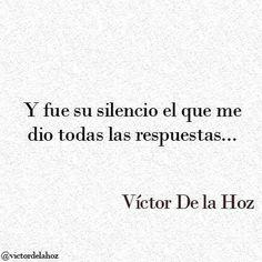 A veces el silencio es la mejor de las respuestas