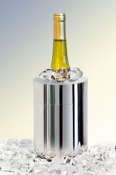 Single bottle wine chillers or coolers are the best way to keep your wine at the perfect temperature when you aren't near the fridge. Learn more about them and see some of the best products for different situations in this post Wine Chillers, Types Of Wine, Sparkling Wine, Wine Drinks, Wines, Barware, Champagne, Alcohol, Good Things