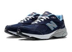 New Balance Womens Vintage Collection 990 v3 Suede Athletic Running Shoes 10.5 #NewBalance #RunningCrossTraining