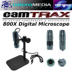 CamTRAX Digital Microscope -800X USB  Video & Pics #CamTRAX