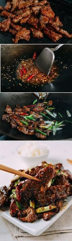 Mongolian Beef Recipe,