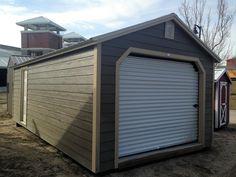 Best Grandview Buildings 14X24 Garage Buckskin Metal Roof And 400 x 300