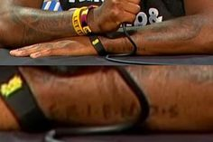 Kyrie Irving has a 'Friends' tattoo. Like from the show 'Friends'
