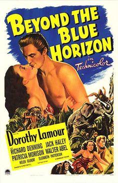 1942 Movie | BEYOND THE BLUE HORIZON POSTER ]