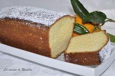 plum cake all'arancia | ricetta la cucina di rosalba