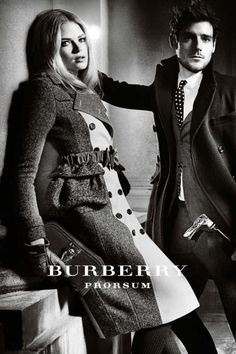 a/w 2012 burberry campaign