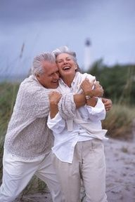 """perfect...Just What Life Is All About..Ending Up Still Together & Having Fun In 'The Last Third"""" of Life!!"""