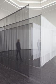 white translucent drape space - Google Search