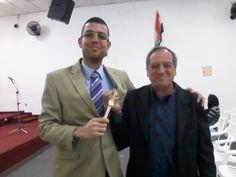 Pastor Edson, da Comunidade Ramá de SP.