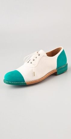 mr. Seymour Cap Toe oxford I don't know what i would wear these shoes with, but i would definitely have them.