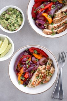 You are going to love these Tex-Mex fajita bowls, full of protein and gluten-free.