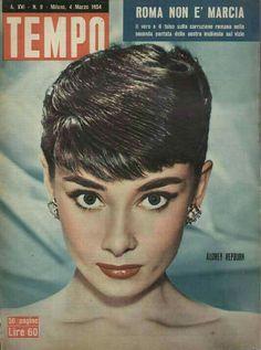 Audrey Hepburn in Magazines