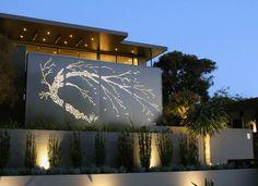 Dramatic Statement piece. #garden #feature #design #londongarden #essexgarden #gardendesigner #gardenlighting