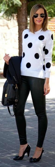 Polka dots, please!