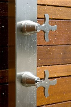 316 Marine Grade Stainless Steel Hot and Cold Taps.  Do you have a DIY outdoor shower project and need quality tapware?