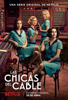 Las Chicas del Cable and vintage fashion From time to time I find on Netflix some drama series that is quite riveting. I wrote a while ago about Velvetthe Spanish tale of star crossed lovers Ana and Alberto set in the Galerias Velvet a department store Series Españolas Netflix, Tv Series 2017, Shows On Netflix, Best Series, Drama Series, Series Movies, Orphan Black, Movies Showing, Movies And Tv Shows