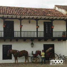 VILLA DE LEYVA arquitectura colonial. Colombia.