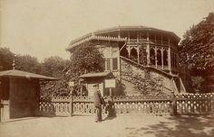 Warszawa w 1870 roku  Teatr Letni w Ogrodzie Saskim