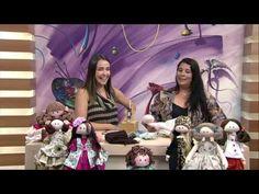 Técnica boneca de pano - Boneca Ritinha por Silvia Torres - 30/03/2017 - Mulher.com - YouTube