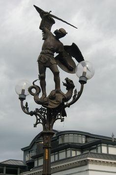 St Joris en de draak, Gent