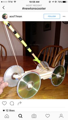 """It looks like duct tape was added onto the rim of the cds. I think that they keep the """"wheels"""" straight and prevent them from going off the designated area."""