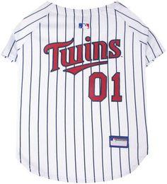 MLB Minnesota Twins Dog Baseball Jersey