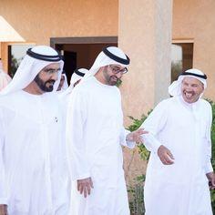 12/13/14 Sheikh Mohammed bin Rashid Al Maktoum, Shiekh Mohammed bin Zayed Al Nahyan and Alarda PHOTO khalifasaeed
