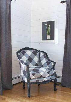 Vintage chair painte