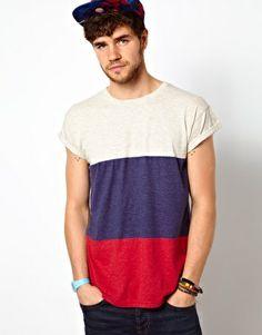 Primark Stripe T-Shirt £5.00 #Men #T-Shirt #Clothes