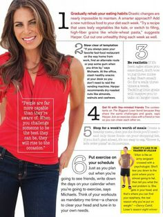 Jillian Michaels' Weight Loss Tips. Love her!!! Lost 55lbs in 6 months doing ALL her workouts!!! :)