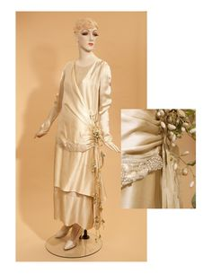 """""""I can't decide if this is a day dress, an evening dress, a mother of the bride dress, an early 20's dress, or a late 10's dress.  I do know that I would wear it with a fox, I would wear it in a box, I would wear it in a house, I would wear it with a mouse. I would wear it on a dock, I do so like this silken frock. ..."""""""