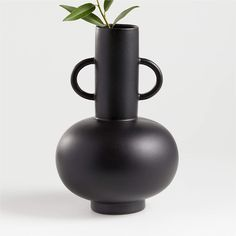 Crate And Barrel, Home Decor Accessories, Decorative Accessories, Decorative Vases, Decorative Objects, Natural Curtains, Crate Decor, Black Vase, Ford