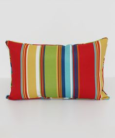 Look at this Westport Stripe Garden Throw Pillow on #zulily today!
