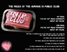 The Nursing in Public Club. Are you in it?