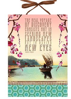 The real voyage of discovery consists not in seeking new landscapes but in having new eyes. Marcel Proust