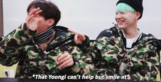 """minpuffs: """" """"Find someone that looks at you the way Yoongi does to Hobi """" """""""