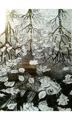 Its not so bad right?  - MC Escher Artwork that i drew.