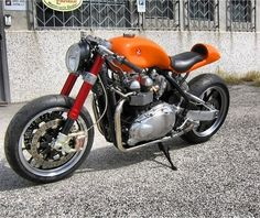 If you've seen a better Triumph Bonnie that has been Cafe'd, prove it and post a pic