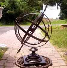 I've seen this in the intro to game of thrones and had to look it up. armillary sphere - Google Search