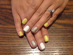 My sister's mani done by Liz...done so well!!!
