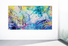 Napa Valley acrylic on canvas, x x cm) Large Painting, Contemporary Paintings, Tapestry, Display, Napa Valley, Canvas, Abstract, Gallery, Artwork
