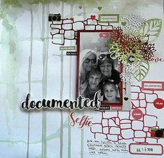 Selfies, My Scrapbook, Scrapbook Layouts, Frame, Blog, Decor, Picture Frame, Decoration, Blogging