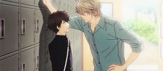 The Badboy at the Lockers - Super Lovers ~ DarksideAnime
