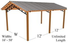 Steel Trusses Pressure Treated Post Metal Roofing Pole Barn Kits and In-house Install Free Quotes Cheap Pricing Quality Products Diy Pole Barn, Pole Barn Kits, Pole Barn Designs, Pole Barn Garage, Carport Designs, Pole Barn Homes, Pole Barns, Rv Garage, Metal Building Homes