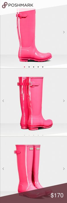 Brand new Hunter boots!! Brand new, never worn, stylish Hunter boots. Hunter Boots Shoes Winter & Rain Boots