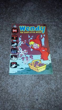 Excellent condition, previous owner wrote name and 1973 inside cover. Everyone loves Wendy and Casper! Great vintage find for the collector! Vintage Comics, My Childhood, 1970s, Witch, My Etsy Shop, Dots, Good Things, My Love, Handmade Gifts