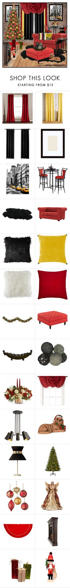 """#PolyPresents: Wish List"" by lakisha-34 ❤ liked on Polyvore featuring Anthropologie, Pottery Barn, Hillsdale Furniture, Tribecca Home, Artisan Weaver, BCBGeneration, Madura, Improvements, Royal Velvet and Sabrina Landini"
